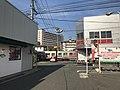 Train of Kagoshima Main Line near Kyushu Sangyo University.jpg