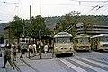 Tram, trolleybus, and buses in Esslingen am Neckar in 1970.jpg