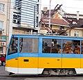 Tram in Sofia mear Macedonia place 2012 PD 021.jpg