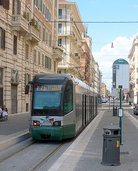 Image illustrative de l'article Tramway de Rome