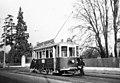 Trams de Genève (Suisse) ligne 5, motrice 14 en 1948.jpg