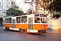 Tramway in Sofia in Alabin Street 2012 PD 043.jpg