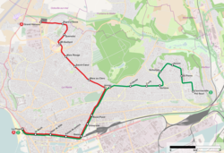 Tramway le Havre carte.PNG