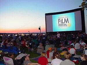 Traverse City Film Festival - Image: Traverse City Film Festival with Airscreen