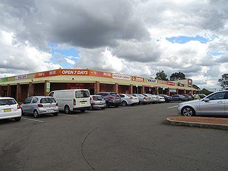 Tregear, New South Wales - Tregear shops