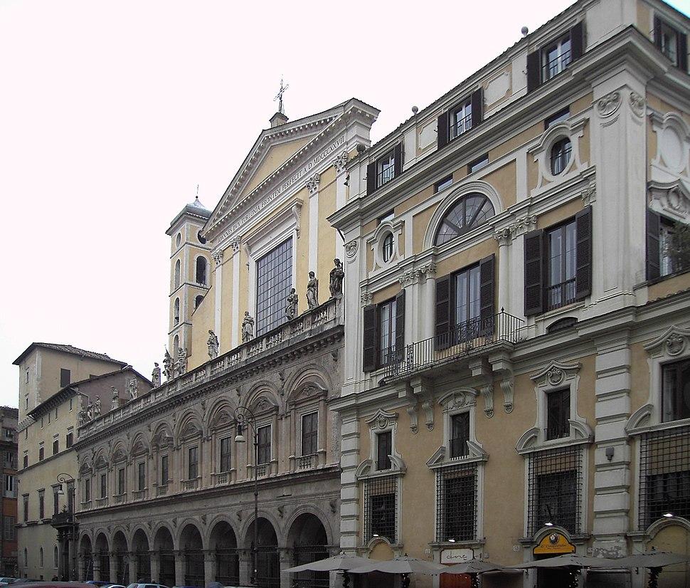 Trevi - palazzo colonna e basilica santi apostoli 01