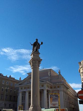 Leopold I, Holy Roman Emperor - Leopold I column (1673) in Trieste