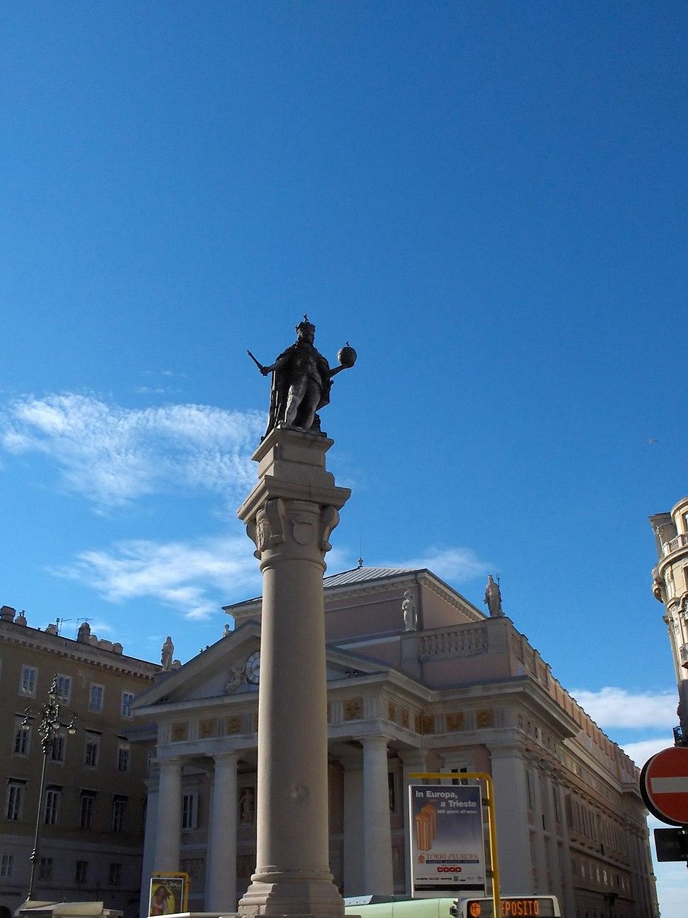 Trieste Piazza-della-Borsa