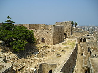 Tripoli, Lebanon - Citadel of Raymond de Saint-Gilles.