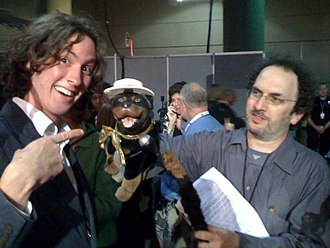 Robert Smigel - Robert Smigel performing Triumph the Insult Comic Dog