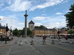 Trondheim plein in 2010