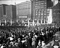 Troops from the Illinois National Guard march in Grant Park during World War I.jpg