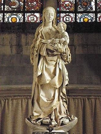 Basilique Saint-Urbain de Troyes - Vierge aux raisins