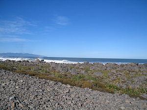 Turakirae Head - Raised beach Turakirae Head