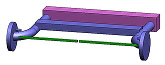 Twist-beam rear suspension - Image: Twistbeam suspension rest