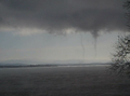 Two winter-waterspouts Lake Champlain 2009-01-15.PNG