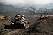 Type 61, Exercise Orient Shield, 18 nov. 1985