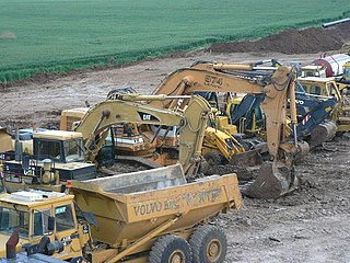 Heavy equipment vehicles designed for executing construction tasks