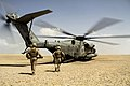 U.S. Marines and sailors load into a Marine Corps CH-53E Super Stallion helicopter after participating in exercise Eagle Resolve 2013 at Al Galail, Qatar, on May 3. 2013 130503-M-HF949-002.jpg