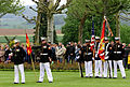 U.S. Marines with the 5th Marine Regiment participate in a Memorial Day ceremony May 26, 2013, at the Aisne-Marne American Cemetery and Memorial in Belleau, France 130526-M-XI134-002.jpg