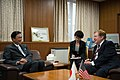 U.S. Special Envoy King with Japan's Abduction Issue Minister Furuya (9614617822).jpg