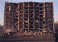 U.S. and Saudi military personnel near explosion site, Dhahran, Saudi Arabia.jpg