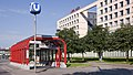 U1 Praterstern AG Lassallestraße - Joseph-Roth-Gasse 01.jpg