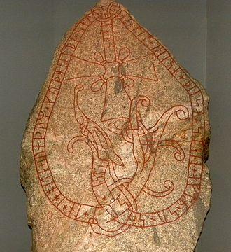 Uppland Runic Inscription 613 - Image: U613runestone 071111