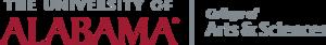 University of Alabama College of Arts and Sciences - Image: UA Artsandscienceslogo