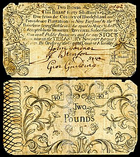 currency of Rhode Island until 1793