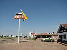 US66 midpoint café Adrian TX.jpg