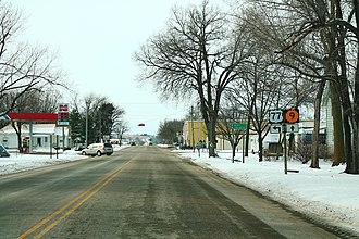 Blue Rapids, Kansas - Image: US77Left KS9ahead Signs Road Blue Rapids (28267189253)