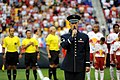 USAF Master Sgt. sings at MLS game (7830762820).jpg