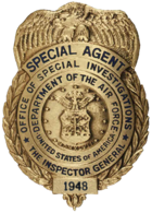 Air Force Office of Special Investigations special agent badge[2]