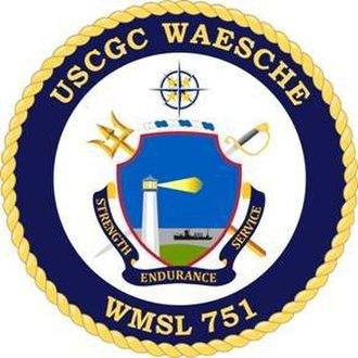 USCGC Waesche (WMSL-751) - Image: USCGC Waesche emblem