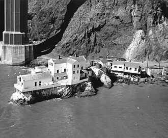Lime Point Light - U.S. Coast Guard Archive