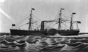 Collins Line - Image: USM steamship Arctic (1850)