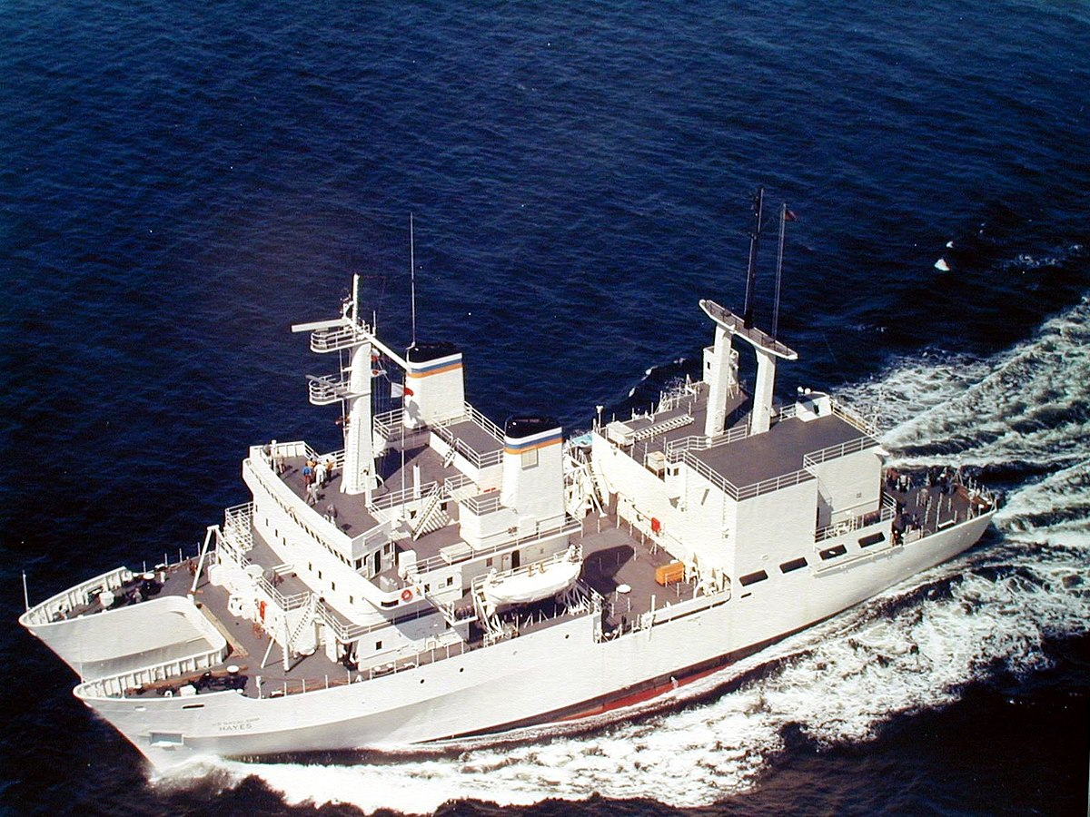 Tacoma To Seattle >> USNS Hayes (T-AGOR-16) - Wikipedia