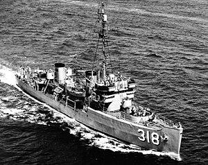 USS Devastator (AM-318) - Image: USS Devastator 96911