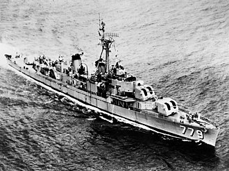 USS Douglas H. Fox - USS Douglas H. Fox (DD-779) underway in the 1950s