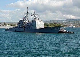 Die Lake Erie in Pearl Harbor, 2007