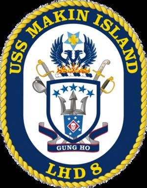 USS Makin Island (LHD-8) - Image: USS Makin Island COA