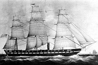 USS <i>Merrimack</i> (1855) U.S. Navy Steam frigate