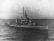 USS Parker (DD-604) at sea, circa 1942