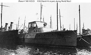 USS <i>Patrol No. 6</i> (SP-54)