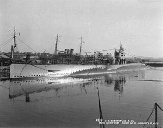 USS <i>S-14</i> (SS-119) 1919 S-class submarine of the United States Navy