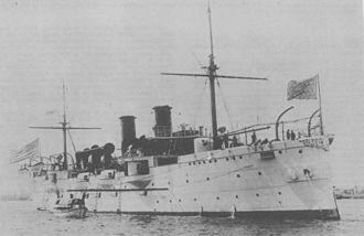 Benjamin Franklin Tilley - USS San Francisco in the 1890s
