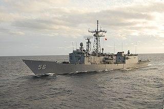 USS <i>Simpson</i> (FFG-56) Oliver Hazard Perry-class frigate