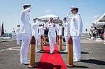 USS Theodore Roosevelt's change of command ceremony 2017.jpg