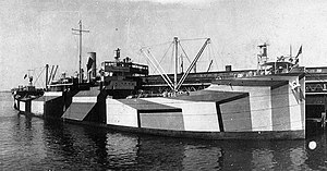 West Cheswald had design and measurements similar to West Shore, a sister ship from the same shipyard seen here c. 1918.